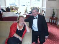 Lion Caroline and John from Burnham Club