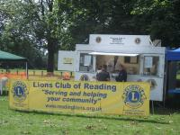 Lions burger van ready for action