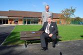 A school bench for local Whitley Park School