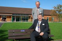 The bench at Whitley Park School