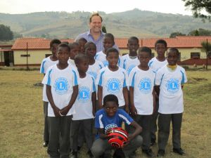 Reading Lions sponsor football team in Swaziland