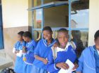 The school in Swaziland