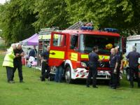 The support services join Fun Day