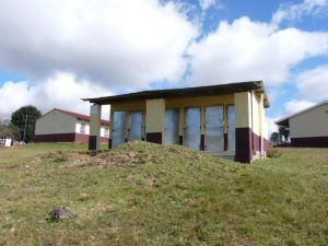 the new toilet block