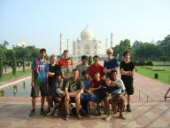 Trip to India the Group