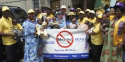 measles vaccine saving lives